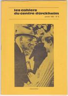 Revue Cahiers Durckheim -psychologie Politique Spiritualite -mars 1984 N° 9 Maitre Noro Kinomichi