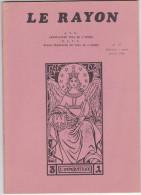 Revue Le Rayon, Association Yoga De L'Ouest, N°27 Fev Mars 1986, L'Imperatrice - Livres, BD, Revues