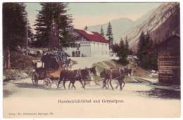 647 - Grimselpost Vor Handeckfall-Hotel - BE Berne
