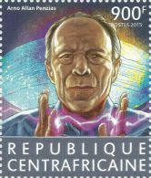 Central Africa 2015 Arno Allan Penzias Nobel Prize Physics 1v Stamp MNH 421 - Célébrités