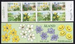 Aland - Carnet - 1997 - Yvert N° 123 à 126 = C123 ** - Aland