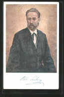 AK Portrait Von Komponist Bedrich Smetana Im Anzug - Artiesten
