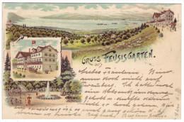 56 - Gruss Aus Feusisgarten - Litho