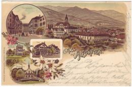 530 - Gruss Aus Altstätten - Litho
