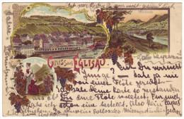 527 - Gruss Aus Eglisau - Litho - ZH Zürich