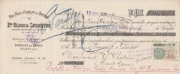 Lettre Change 13/11/1931 CLERC & SEVERYNS Vins Espagne Portugal Bercy PARIS Pour Doulevant 52 - Bills Of Exchange