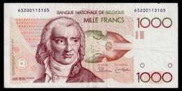 Belgium 1000 Francs 1980-1996 VF- - [ 2] 1831-... : Belgian Kingdom