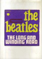 - THE  BEATLES . 45 T. THE LONG AND WINDING ROAD  . - Rock