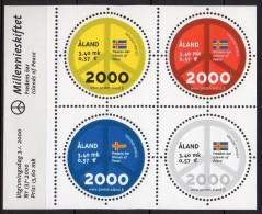 Aland - 2000 - Yvert N° 164 à 167 ** - Aland