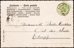 1855. 40 C. LEOPOLD 83 + MONS 5 AVR 1855 To Cher.  (Michel: 5B) - JF182106 - Belgien