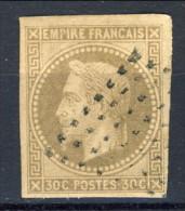 Colonie Francesi, Emissioni Generali  1871-72 N. 9 C. 30 Bruno Usato - Napoleon III
