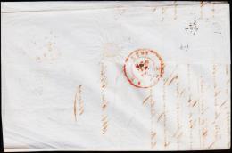 1855. 20 C. Leopold LIEGE 21 AVR 1855. To TIREMONT 22 AVR 1855.   (Michel: 4B) - JF182111 - Belgien