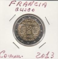 FRANCIA  - 2 EURO COMMEMORATIVO ANNO 2013 ELISEO  (1°) -  COME FOTO - IN  FDC - France