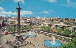 England London Trafalgar Square and Nelson's Column 1966