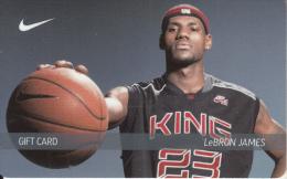 USA - Basketball/LeBron James, NIKE Magnetic Gift Card, Unused - Gift Cards