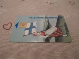 FINLAND - nice chipphonecard as on photo