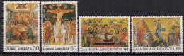 1994 Griechenland Mi. 1844-7 **MNH  Ostern: Passionsdarstellungen - Grèce