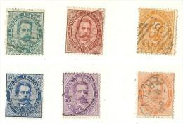 LDR11 - ITALIE REGNO  UMBERTO I EMISSION DE 1879 SERIE COURTE OBLITEREE - 1878-00 Umberto I
