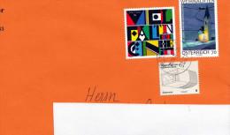Österreich - Schöne 3 Fach Frankierung Auf Brief - 2011-... Cartas