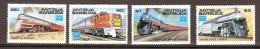 Antigua Et Barbuda 1986 Yvertnr 912-15 *** MNH Cote 12 Euro Chemin De Fer Treinen Trains - Antigua Et Barbuda (1981-...)