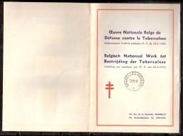 100324 Sc B485-B491 BELGISCH NATIONAAL WERK TOT BESTRIJDING DE TUBERCULOSE [TUBERCULOSIS]- CDS BRUXELLES-BRUSSEL//1 - Stamps