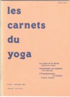 Carnets Du Yoga Mensuel 85 Janv 1987 - Atlani Freslon