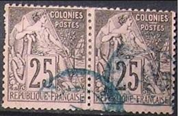 Emissions Colonies Générales N° 54 Paire, Alphée Dubois (AR) - Alphée Dubois