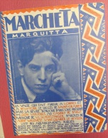 Marcheta  Marquitta  Valse Musique V.L. Schertzinger Paroles Willemetz Saint-Granier Le Seyeux 1923 Ed. Salabert  BE - Musique & Instruments