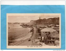 ADEN-post Office And Bay- Beau Plan Du Bureau De Poste-la Baie Avec Bateaux -années 1910-20-édit  Lehem&co - Yémen