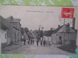 BEAUCHAMPS GRANDE RUE BOULANGERIE - Autres Communes