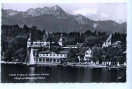 Velden Am Wörthersee, Schloß Mit Mittagskogel, 1958 - Velden