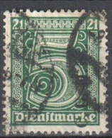 Germany 1920 Upper Silesia - Official Stamps - Mi. 1 - Used - Gestempelt - Allemagne