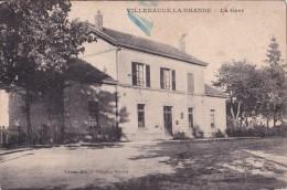VILLENAUXE  LA  GRANDE  -  La  Gare. - France