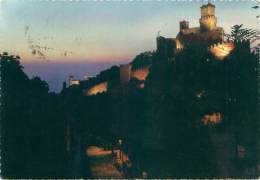CPM - Republica Di S. Marino - Visione Al Tramonto - Saint-Marin
