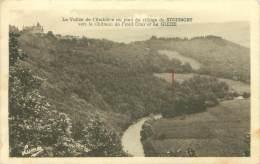 La Vallée De L'Amblève Au Pied Du Village De STOUMONT Vers Le Château De Froid Cour Et La GLEIZE - Stoumont