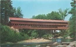 SWIFT RIVER Conway.  First Bridge Built By John Douglas - Etats-Unis