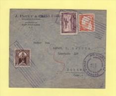 Par Avion - Salvador Destination Cuba - 24 Fevrier 1934 - Salvador