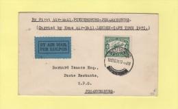 Afrique Du Sud - 1er Vol Pietersburg Johannesburg - 19 Dec 1931 - Posta Aerea