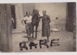 PHOTO ANCIENNE ANIMEE,FETE,58,NIEVRE,LA CHARITE SUR LOIRE,FETE AGRICOLE 1908,FAMILLE GREGOIRE - Places