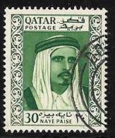 Qatar, Scott # 29 Used Sheik, 1961 - Qatar
