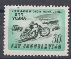 Italy Yugoslavia Trieste Zone B, Auto-Moto Racing 1953 Mi#99, Sassone#86 Mint Hinged - Mint/hinged