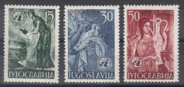 Italy Yugoslavia Trieste Zone B, 1953 Mi#95-97, Sassone#82-84 Mint Never Hinged - Mint/hinged