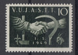 Italy Yugoslavia Trieste Zone B, 1949 Mi#4, Sassone#6 Mint Hinged - 7. Trieste