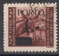 Istria Litorale Yugoslavia Occupation, Porto 1945 Sassone#2 Overprint I, Used