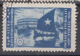 Istria Litorale Yugoslavia Occupation, 1946 Sassone#66 Used