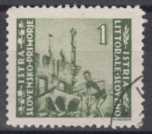 Istria Litorale Yugoslavia Occupation, 1946 Sassone#63 Used