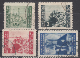 Istria Litorale Yugoslavia Occupation, 1946 Sassone#63-66 Complete Set, Used