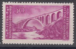Istria Litorale Yugoslavia Occupation, 1946 Sassone#60 Mint Hinged