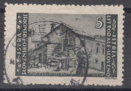 Istria Litorale Yugoslavia Occupation, 1946 Sassone#57 Used