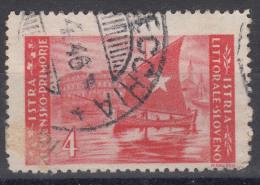 Istria Litorale Yugoslavia Occupation, 1946 Sassone#56 Used